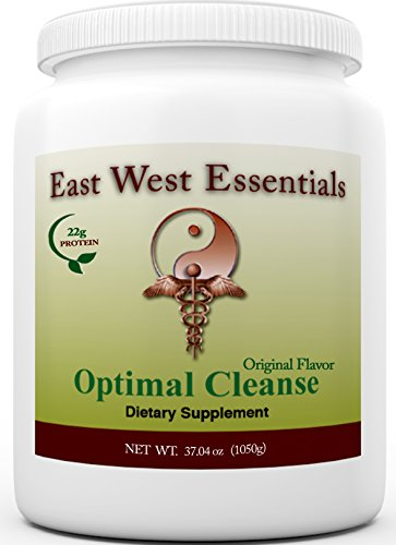 Optimal Cleanse - Original by East West Essentials - Helps Eliminate Toxins From The Liver And Fat Cells - Aids In Weight Loss - Can Be Used As A Meal Replacement Vanilla