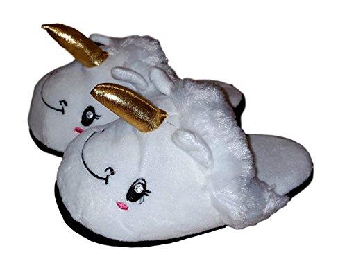 Zapatillas De Felpa Mujer Adidas Unicornio Blanco