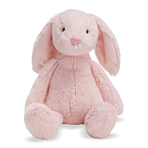 Manhattan Toy Lovelies Pink Binky Bunny Plush Animal Toy, 15
