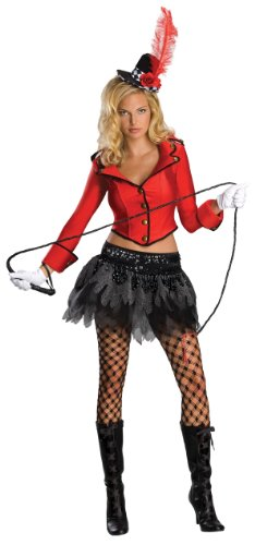 Secret Wishes  Ringmaster Costume, Red, X-Small ()
