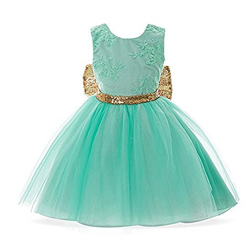 Askwind-Baby-Girls-Sequins-Bowknot-Floral-Princess-Dresses