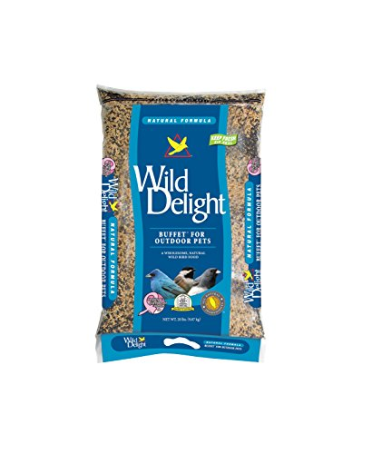 Wild Delight Buffet Wild Bird Food, 20 lb