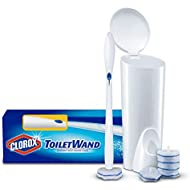Clorox ToiletWand, Disposable Toilet Cleaning System,  6 Disinfecting Toilet Wand Refill Heads ,