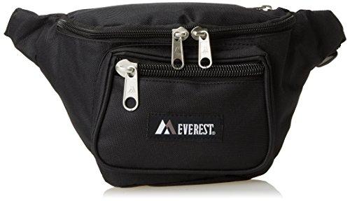 Everest Signature Waist Pack - Medium, Black,