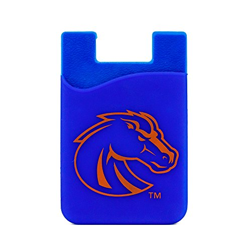 (Guard Dog Card Keeper/Card Holder Silicone Phone Wallet (Boise State Broncos) )