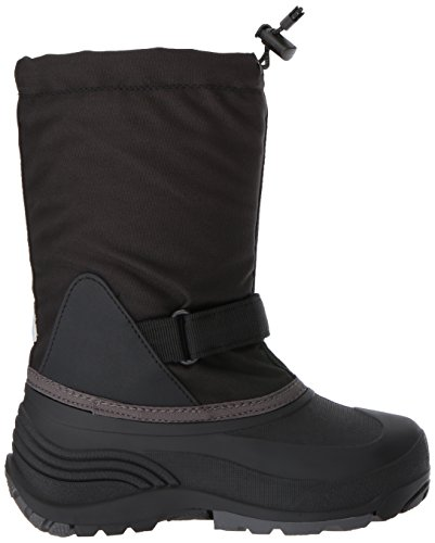 Pictures of Kamik Girls' Waterbug5 Snow Boot Black/Charcoal NK4771S 3