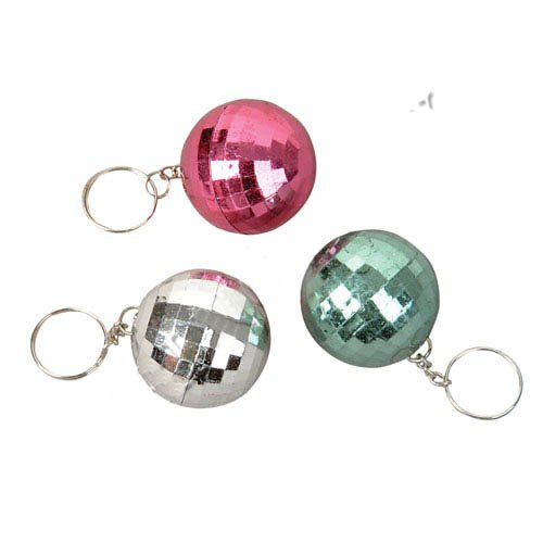 Disco Ball Key Chain [Colors Will -