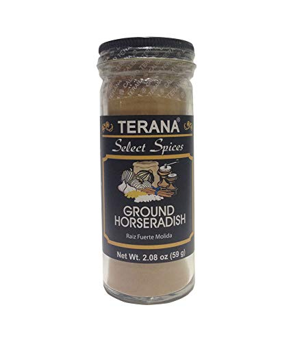 Terana Ground Horseradish Herbs, 2.08 Ounce (Powder Root Horseradish)