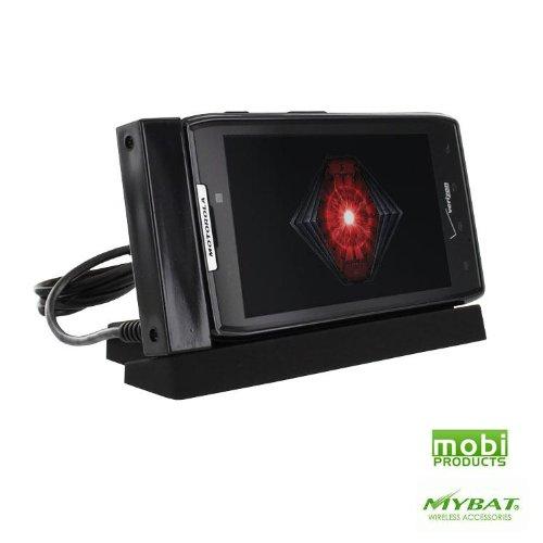 Motorola Razr Cradle - Mobi Products / Mybat Desktop Charging Cradle for Motorola Droid RAZR