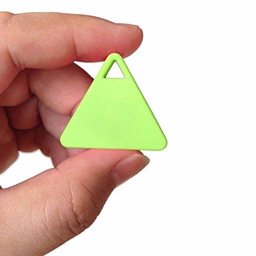 Gobrother Key Finder Bluetooth 4.0 Anti-lost Triangle Tracker Finder Two-way anti lost, Key/ Anti-theft,Kids/Pets Anti-lost(Green)