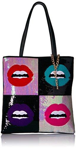 Betsey Johnson Rebel Rebel Sequin Lips ()