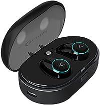 MYCARBON Auriculares Inalámbricos Bluetooth Mini V4.2 táctil digital Auriculares inalámbricos con una caja de carga Hogar Coche Ejercicio Gimnasio