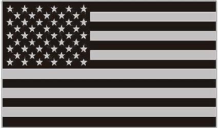 07b9903b5e5 Amazon.com  American subdued flag USA sticker peel and stick logo ...