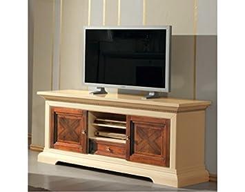 Vintage Home mobile porta tv basso in legno: Amazon.co.uk ...