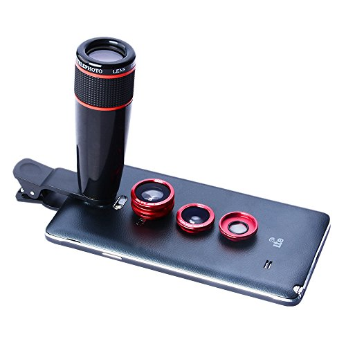 Universal clip Lens (Red) - 4