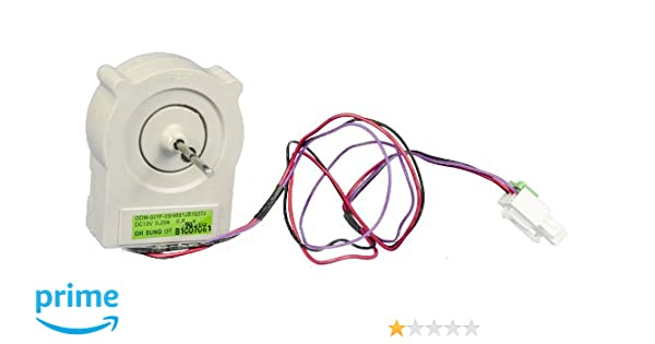 Enterpark Only Factory Version Replacement Refrigerator Evaporator Fan Motor for LG 4681JB1027C