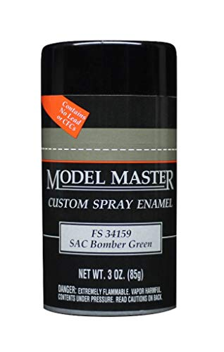 Testors Model Master Spray Enamel SAC Bomber Green FS 34159 3oz. 85g #1993 ()