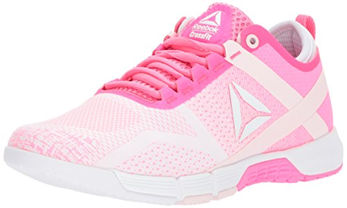 Reebok Women's R Crossfit Grace TR Sneaker, Avon-Poison Pink/White/Po, 9.5 M - Running R