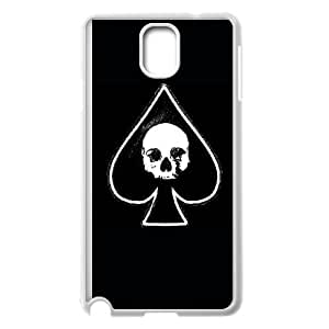Samsung Galaxy Note 3 Cell Phone Case White Ace of spades KYS1110309KSL