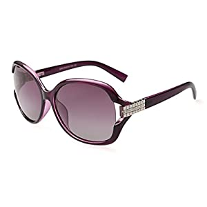 Heartisan Women's Classic Oversized Driver Eyewear Polarized Sunglasses C4