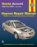 img - for Honda Accord 1998-2002 (Haynes Repair Manual) book / textbook / text book
