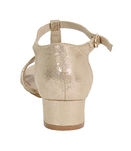 para Shoes Gold by Sandalias Mujer Sq0xRvR