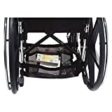 Homecare Wheelchair Underneath Carrier 17'' L x 15'' x 2'' H, Black