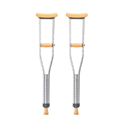 Muletas, andador liviano de altura regulable, muletas para axilas ...