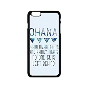 Happy ohana means family Phone Case for Iphone 6 hjbrhga1544