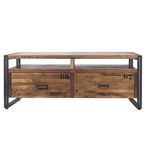 Indhouse - Mueble tv loft estilo industrial en metal y ...