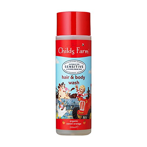 Childs Farm Caked in Mud Hair and Body Wash for Dirty Rascals Groceries CF110