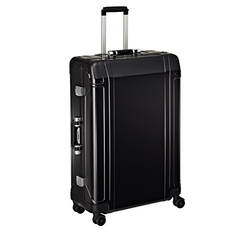 Zero Halliburton Geo Aluminum 30″ Spinner Luggage, 4 Wheel Suitcase