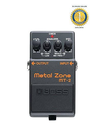 Boss MT-2 Metal Zone Distortion Guitar Pedal Ichigo Metal