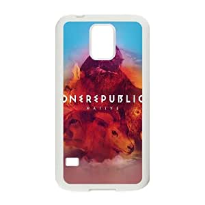 Samsung Galaxy S5 Cell Phone Case White ac62 one republic band cover art SU4394390