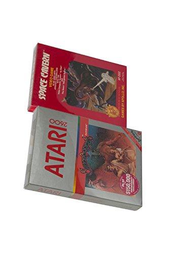 25 EvoRetro Atari Protectors (Clear Plastic) – Scratch Resistant Boxes Atari 2600 or Coleco CIB - Scratch Resistant