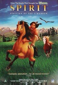 SPIRIT MOVIE POSTER Stallion of the Cimarron RARE NEW by HSE (The Real Spirit Stallion Of The Cimarron)