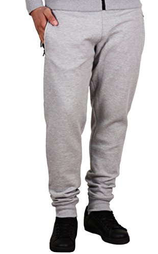 Jordan Craig Solid Fleece Joggers Heather Grey
