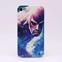 Pinlong Anime Attack On Titans Hard Back Shield Case Cover for iPhone 4 4S
