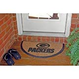 Green Bay Packers Half Moon Door Mat
