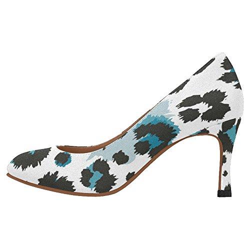 InterestPrint Womens Classic Fashion High Heel Dress Pump Shoes Multi 7 vDYk4zxH