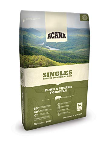(ACANA Singles Limited Ingredient Dry Dog Food, Pork & Squash, Biologically Appropriate & Grain Free)