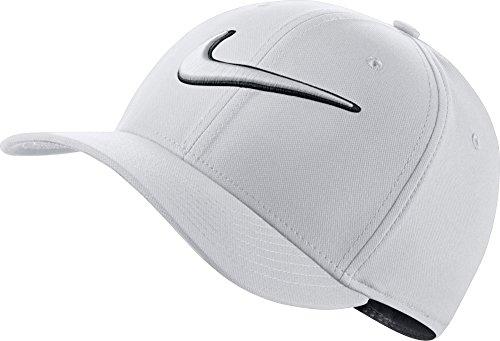 ナイキ アクセサリー 帽子 Nike Men's Classic99 Swoosh Golf Hat White [並行輸入品]