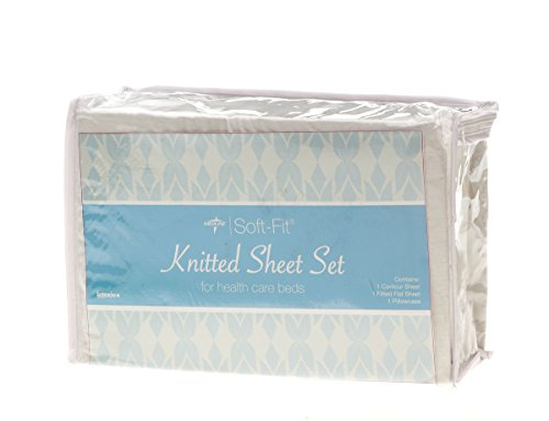 medline MDTDEALERPK2 Soft-Fit Knitted Dealer Pack Sheet S...