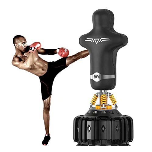 Prettywan Humanoid Punching Bag Standing Fitness Punching Boxing Freestanding Punching Tower Bag Adults De-Stress Boxing Target Bag A Suction Base Exercise Release Stress Lose Weight – DiZiSports Store