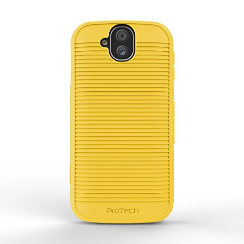 Kyocera DuraForce Pro E6800 Flex Skin Gel Case with Slim Line Drop Protection TPU material (Yellow) from Wireless PROTECH