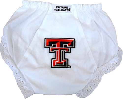 Future Tailgater Texas Tech Red Raiders Baby Diaper Cover (6-12 Months)