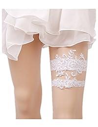 Xugq66 Rhinestones Lace Wedding Bridal Garter Belt 1pc