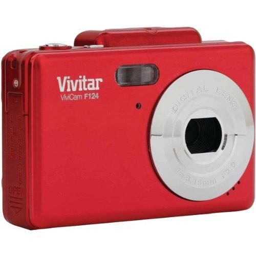 VIVITAR VF124-RED 14.1 MEGAPIXEL ITWIST DIGITAL CAMERA  -