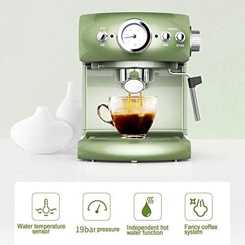 PXX Cafetières Entièrement Semi-Automatique Machine À Café Retro Style Espresso Type de Pompe Ménage Et Le Type Vapeur Commercial Lait En Mousse Forte Vapeur Machines À Espresso