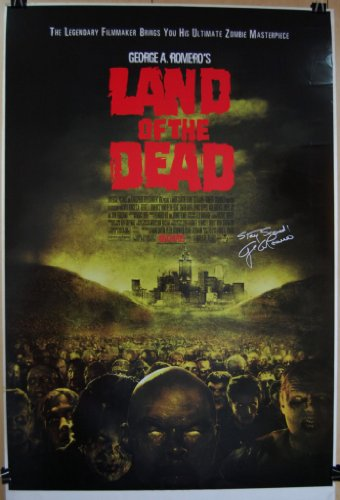 2005-LAND-OF-THE-DEAD-Original-DS-27x40-Movie-Poster-GEORGE-ROMERO-Zombies